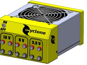 Cyclone PCB Factory ATX Power Supply Case