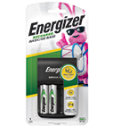 package of energizer recharge basic battery charger