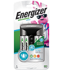 package of energizer recharge pro battery charger