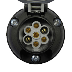 7 Pin Electric Socket